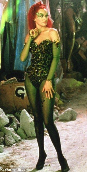 Uma Thurman's Poison Ivy in Batman and Robin. I wish I could wear this to work because I could make this costume