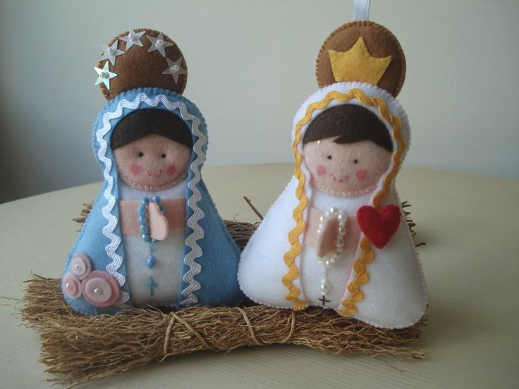 Fofurinhas - Sandra Reis: Nossa Senhora das Graças e Nossa Senhora de Fátima