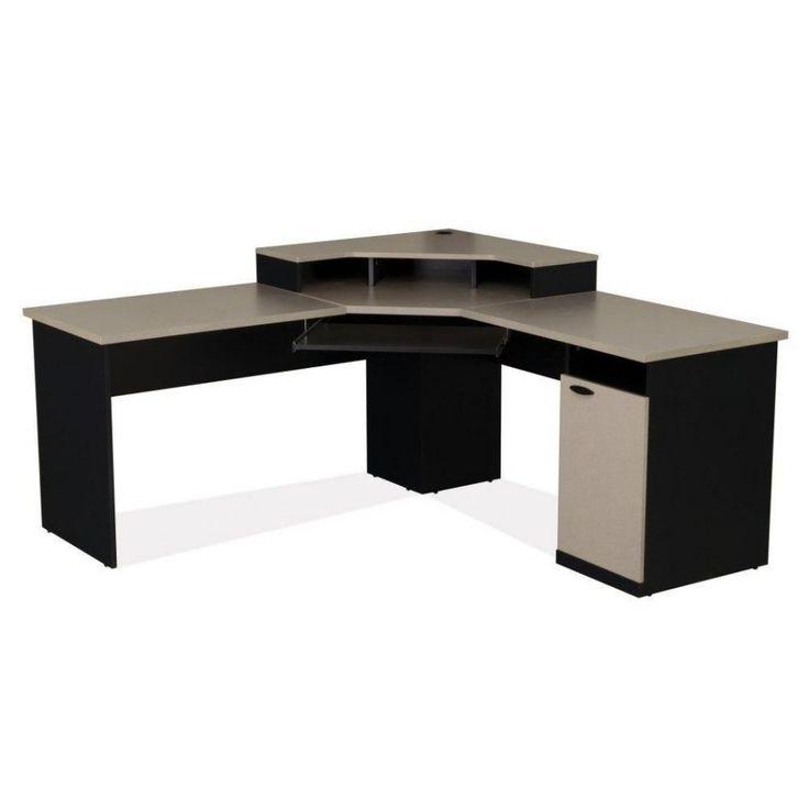 Wooden Corner Desks for Home Office - Best Home Office Desks Check more at http://www.shophyperformance.com/wooden-corner-desks-for-home-office/