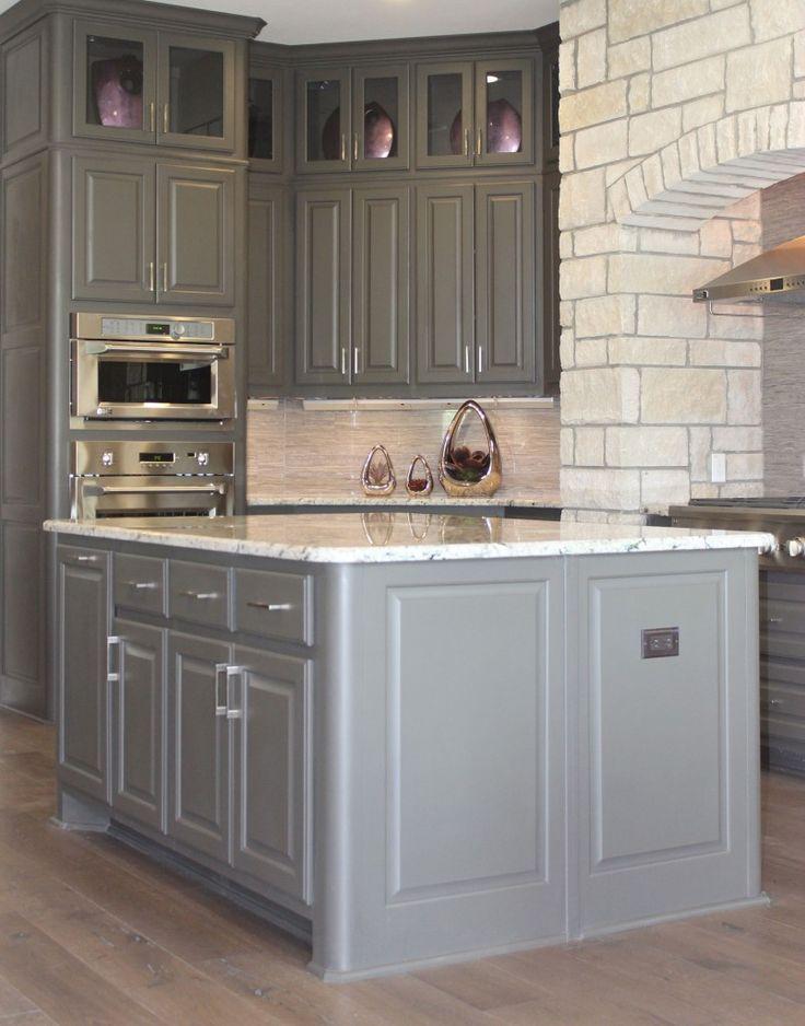 Wunderbare Grau Schränke Update Der Texanischen Küche