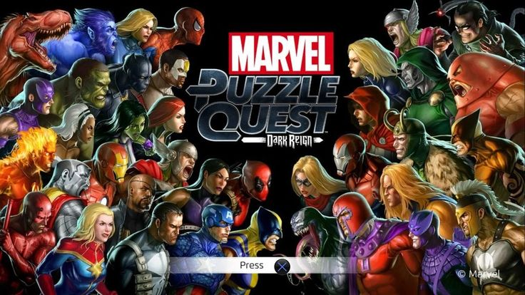 Marvel Puzzle Quest: Dark Reign Review