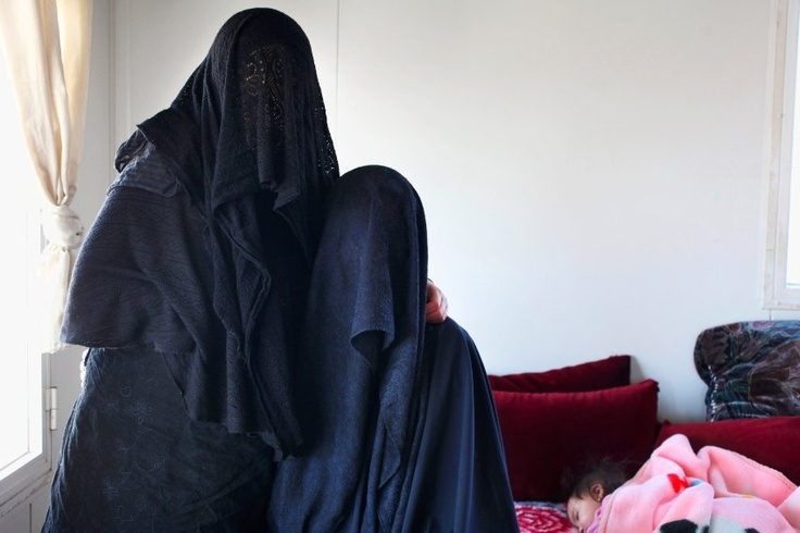 Ultra-Orthodox Jewish cult known as The Jewish Taliban. Women who have taken on many layers to conceal their figure. Each layer adds kedusha (holiness).