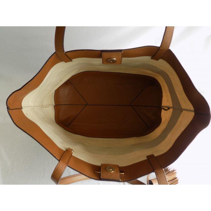 Buy Preowned Luxury Michael Kors Striped Large East West Tote At Luxepolis Com Michael Kors East West Kor