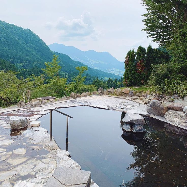 Not a bad spot to have my second onsen of the day….