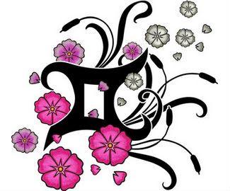 Gemini Zodiac Tattoos | Zodiac Tattoos | Tattoo Symbols,Tattoo News,Tattoo Magazine,Tattoo ...