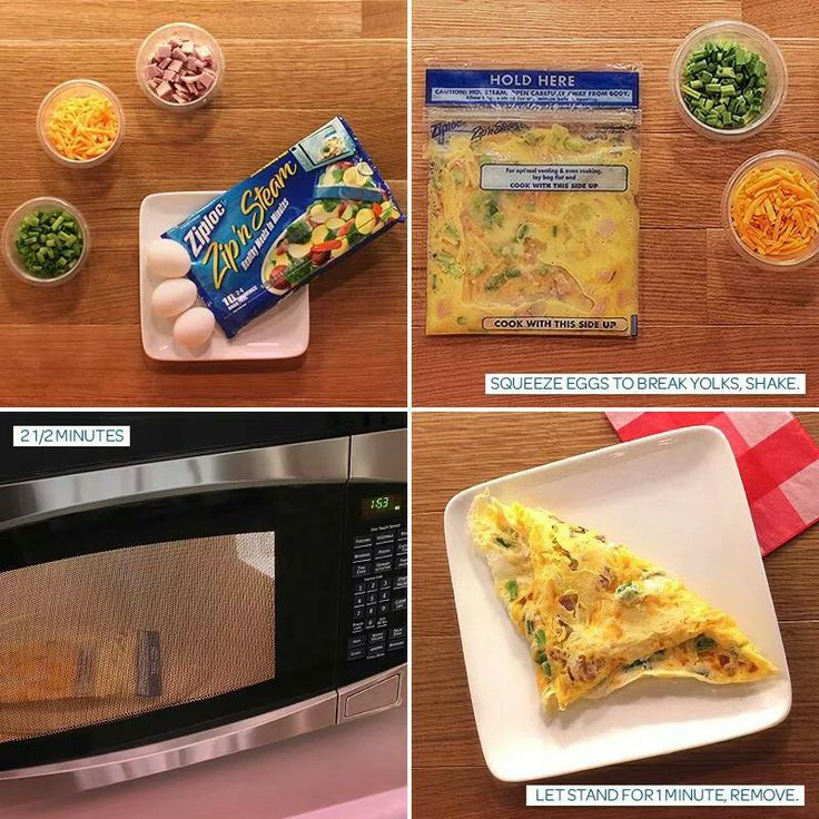Life needs Ziplock - because no one in the real world has time to fry an omelet. I'm sooo doing this