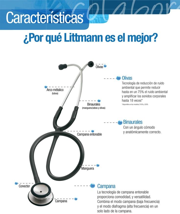 Características del estetoscopio #Littmann