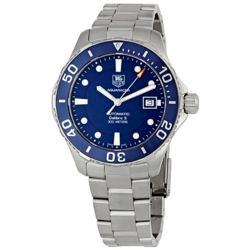 Best men 39 s watch 32 discount tag heuer men s aquaracer stainless steel watch wan2111 ba0822 for Tag heuer discount