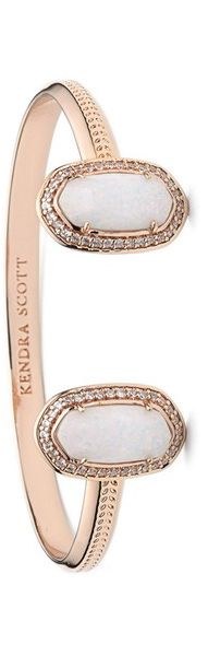 Kendra Scott Bracelet - Rose Gold and Opal
