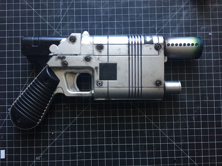 Nerf Re-Paint to resemble Rey's Blaster from Star Wars The Force Awakens