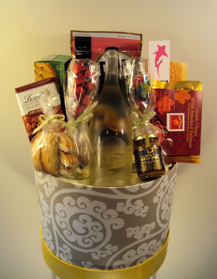 Gourmet food and wine gifts wedding