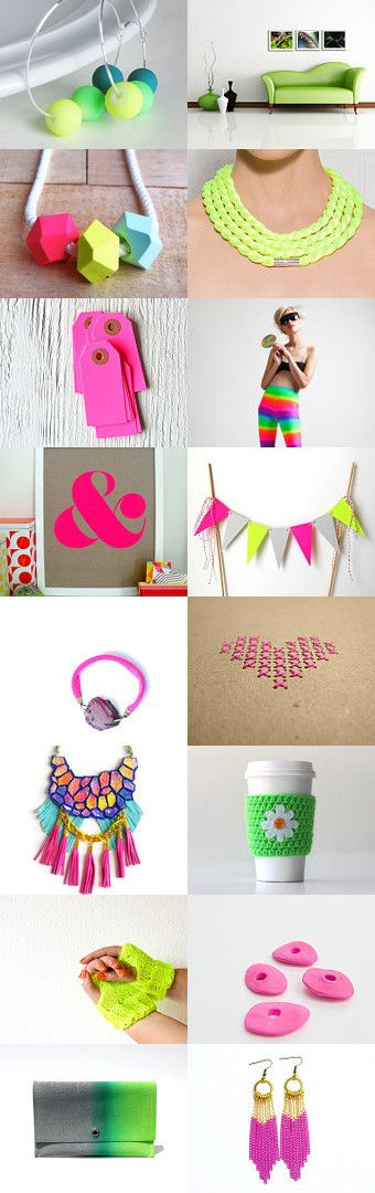 Neon by Georgia on Etsy--Pinned with TreasuryPin.com