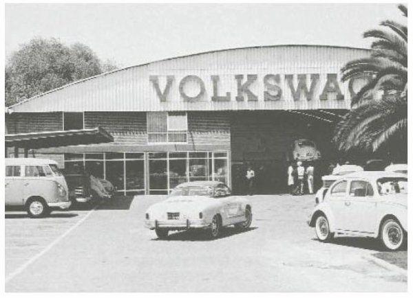 Old VW Dealership