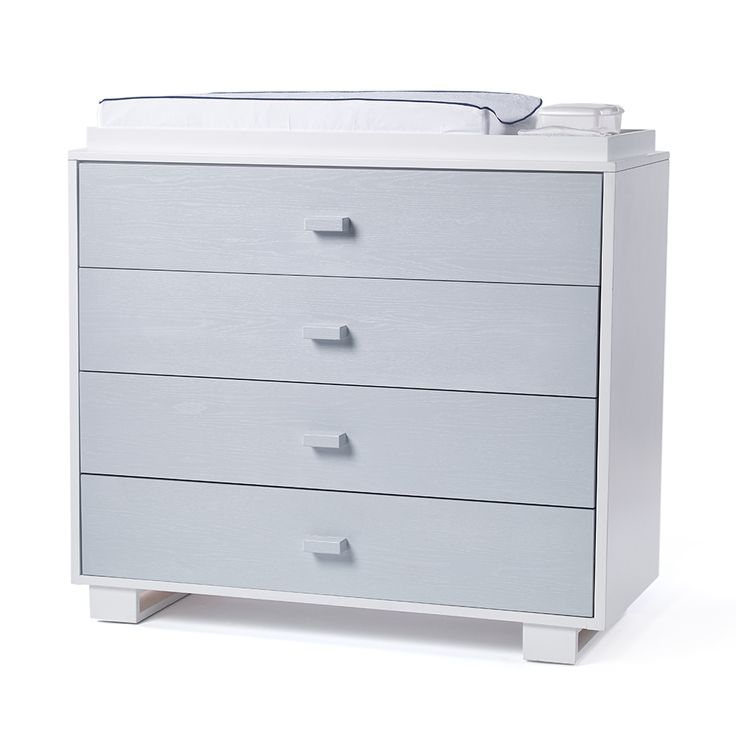 A brand original, the austin 4 drawer changer is cute but confident. The simple profile and block pulls let this dresser move seamlessly from nursery to teen room to man cave. Quickship options available!