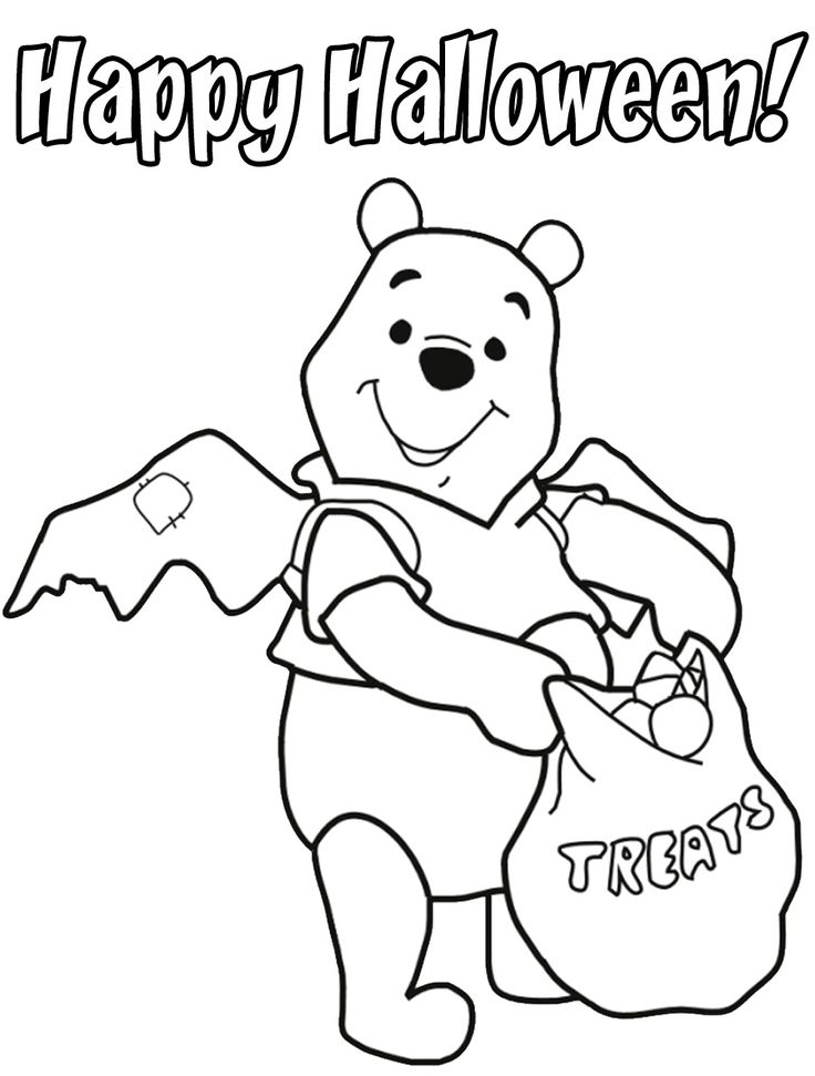 73 best Disney Halloween Coloring Page images on Pinterest ...