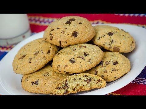 Fursecuri americane cu ciocolata reteta video - JamilaCuisine
