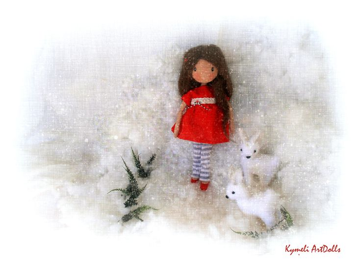 Collectible Art Doll 28cm by Kymeli ...
