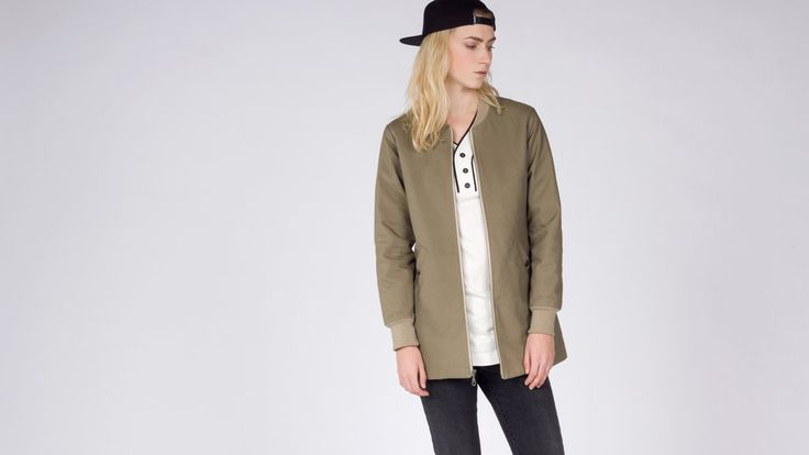 Bridge and Burn Olive Ramsey Jacket  Coat | Wildfang - 1