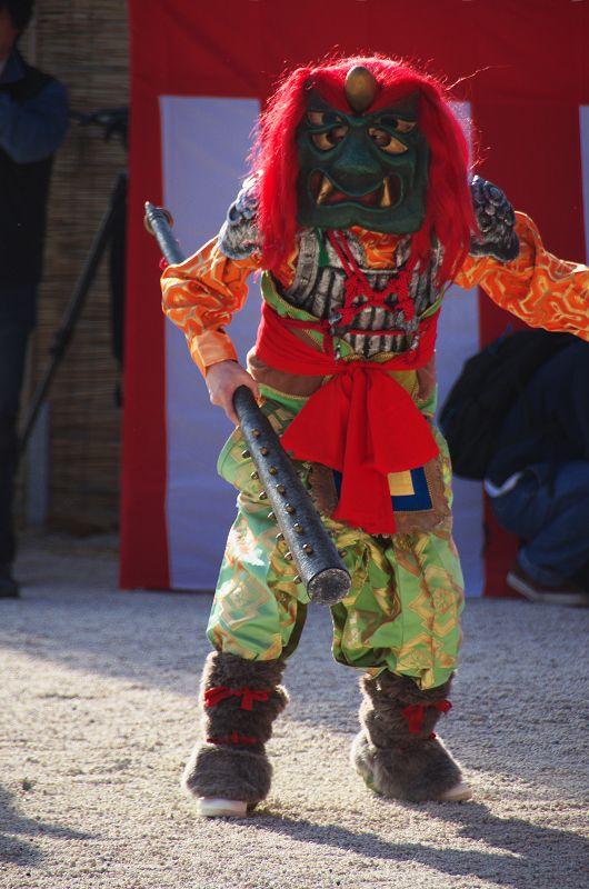 鬼の舞(平安神宮・節分祭) : 花景色-K.W.C. PhotoBlog