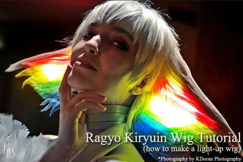 Cowbutt Crunchies Cosplay — Ragyo Kiryuin Wig Tutorial/Walkthrough For...