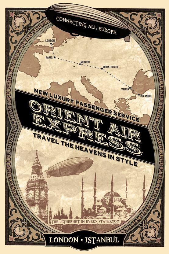 Orient Express railway