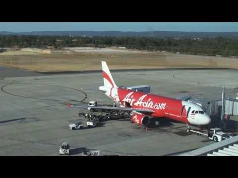 Turnaround AirAsia em Perth, Australia