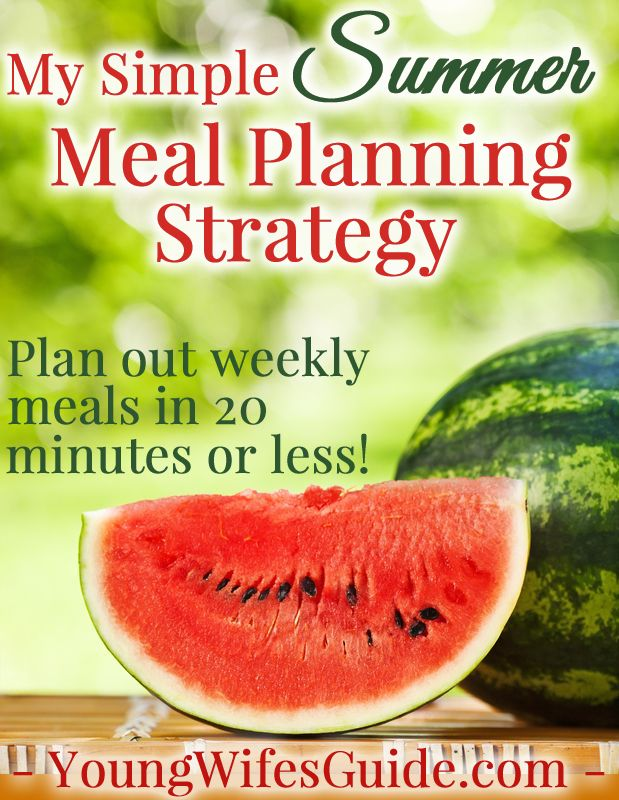 One of my biggest priorities as a homemaker is making delicious and nutritious meals for my family. But sometimes it's SO hard to get the motivation and find the time to plan out - and make - meals! Do you ever feel like this? Click here for this super simple meal planning strategy!!