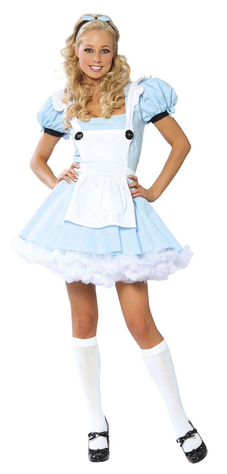 White apron for alice in wonderland costume - Alice Costume