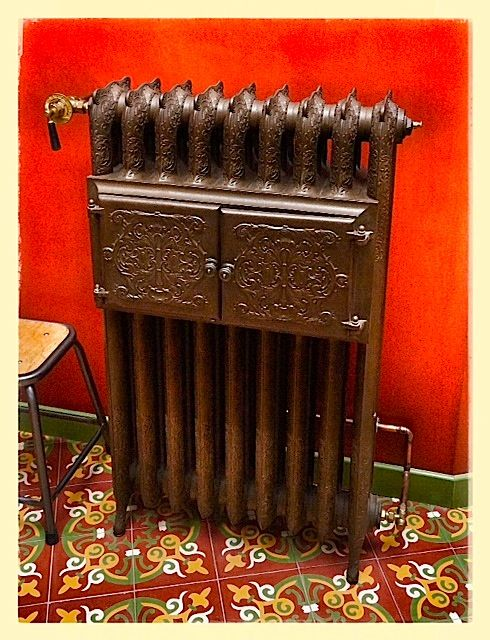 65 best cast iron radiators images on pinterest cast iron radiators cast i - Radiateur fonte design ...
