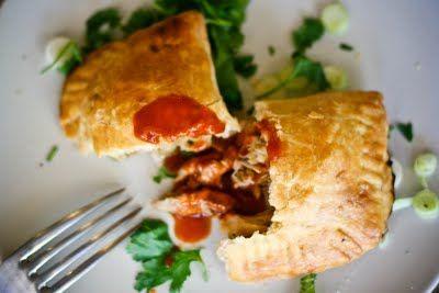 Chicken Empanadas with Chorizo and Olives
