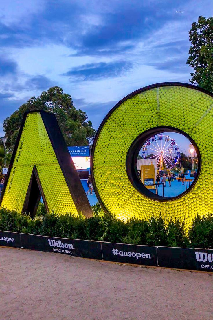 Birrarung Marr Australian  Tennis Open -SandraZ