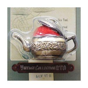 Игольница в виде чайника