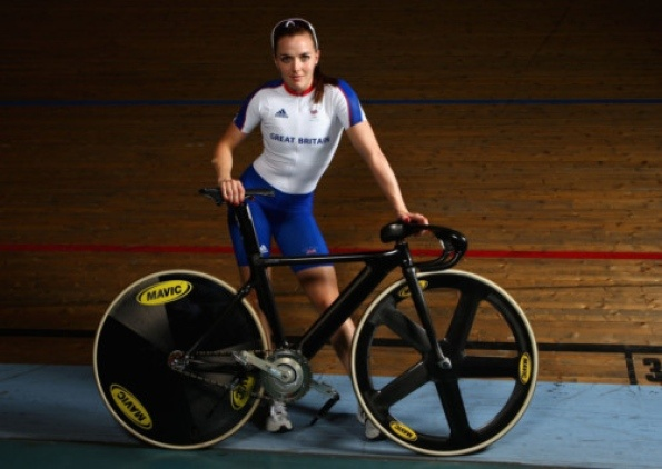 Victoria Pendleton of Team GB Olympic Cycling team. - www.london2012.com #cycling #london2012 #olympics