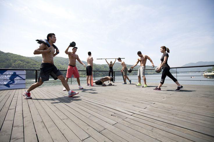 Teamsfitness  Outdoor training
