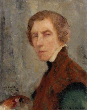 Maria Wiik - Self-Portrait, 1917 *** http://fi.wikipedia.org/wiki/Maria_Wiik
