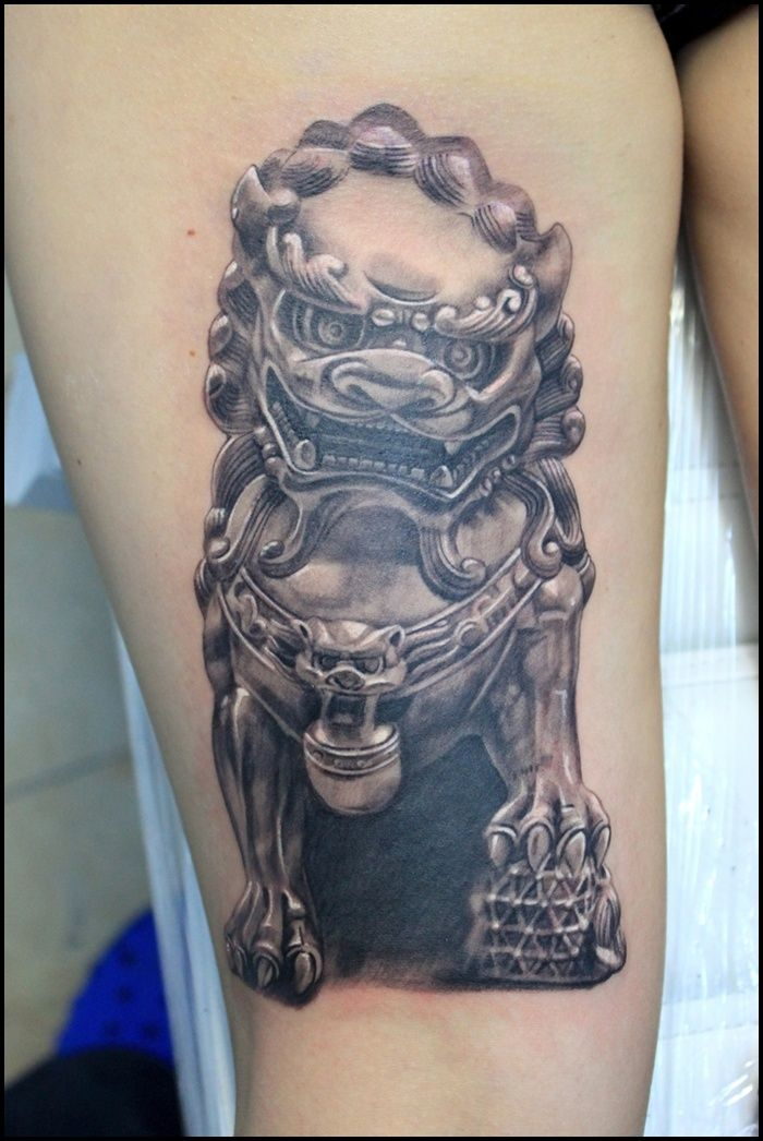 foo dog tattoo (9)                                                                                                                                                      More