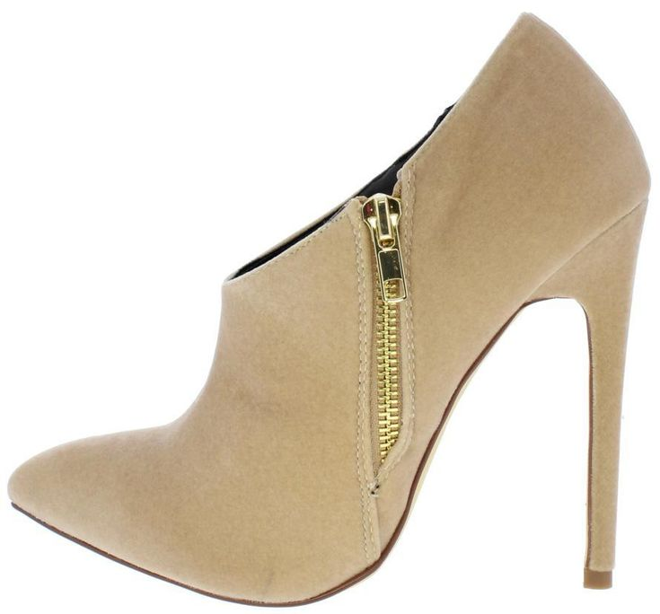 SADIE125 NUDE WOMEN'S BOOT - Wholesale Fashion Shoes