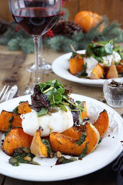 This combination screams with goodness! The sweet roasted butternut squash blends perfectly with the creamy burrata and basil oil, allowing you to indulge your 'autumny' side with minimal effort.…