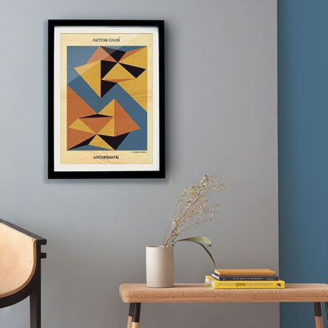 Antoni Gaudí Poster by Federico Babina   MONOQI #bestofdesign