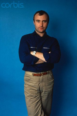"Phil Collins from ""Genesis"" 1983"