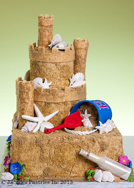 Best images about sandcastle cake on pinterest beach