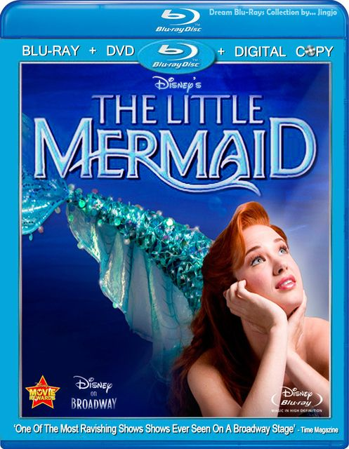 The Little Mermaid Broadway Musical DVD