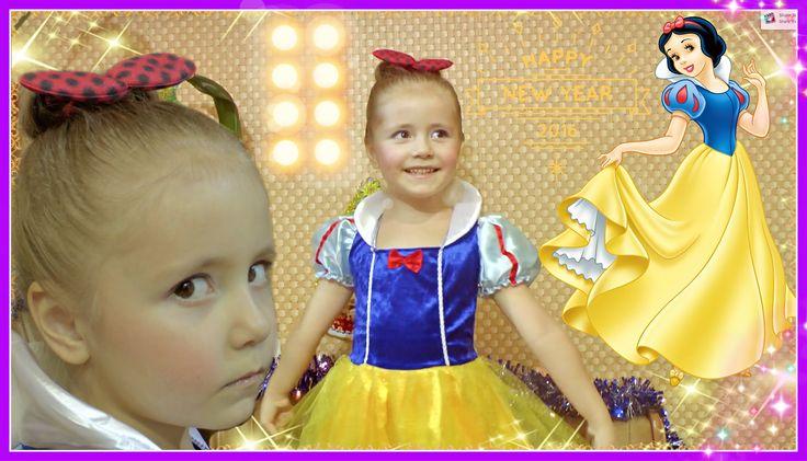 Макияж БЕЛОСНЕЖКИ / Disney's Snow White Makeup Tutorial #Косметика #Прич...