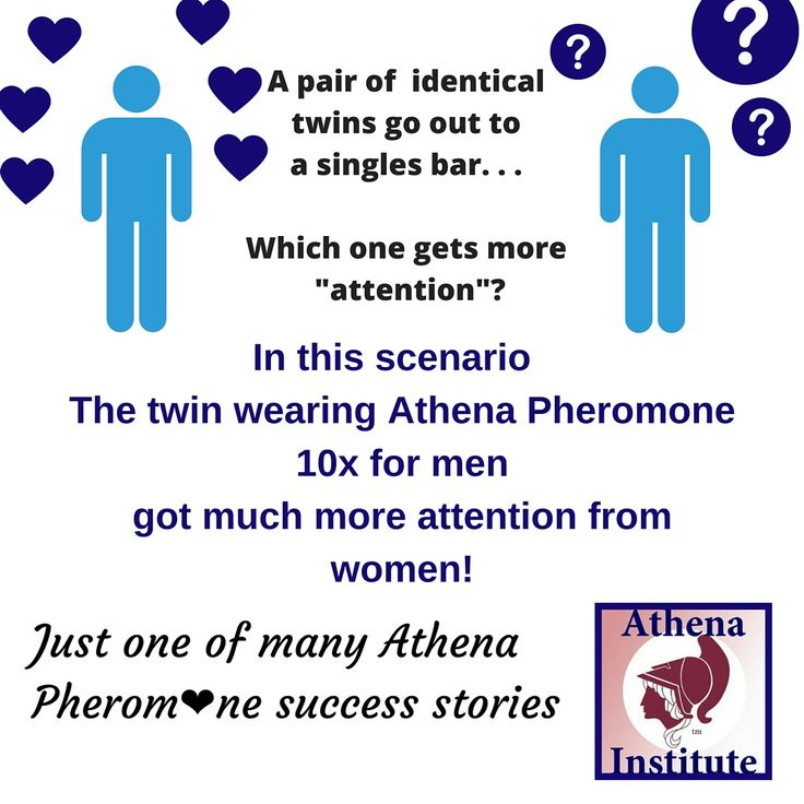 Find out how Athena Pheromone 10Xtm can work to increase the romance in your life based on this speed dating experiment done by ABC news' 20/20 on a pair of identical twins! https://www.youtube.com/watch?v=rrA_cuhH0Y0 #pheromones #attraction #men