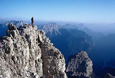 Le Dolomiti friulane sono considerate la parte più incontaminata dell'intero gruppo dolomitico, Patrimonio dell'Umanità UNESCO