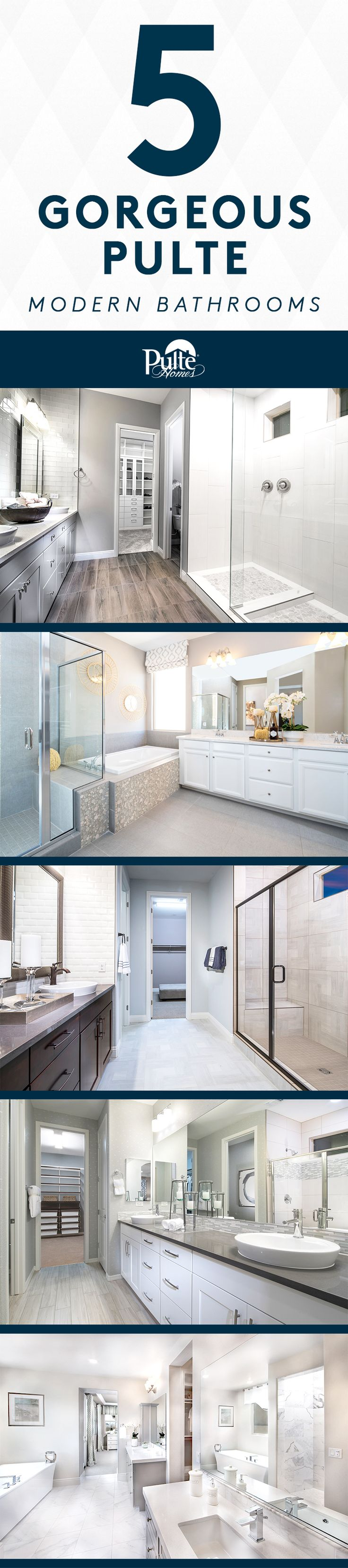 79 best Masterful Bathrooms images on Pinterest