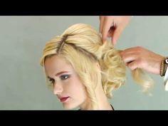 Ютуб укладка тонких волос