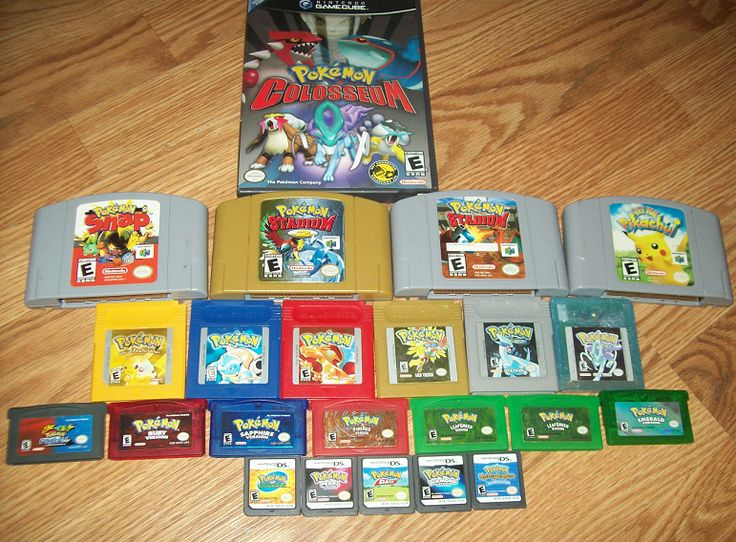 All Old Pokemon Games Ds Images  Pokemon Images