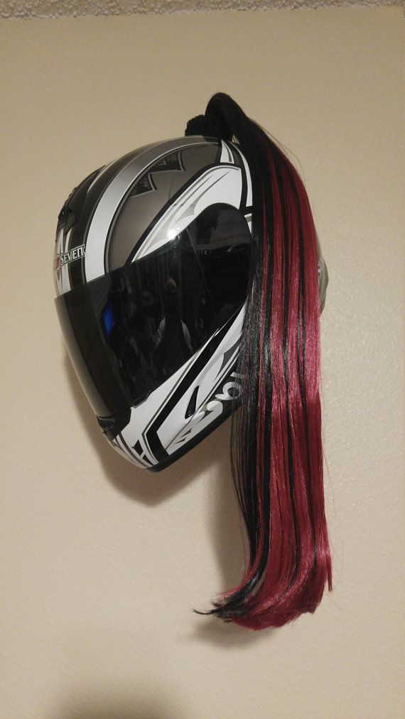 Other Motorcycle Merchandise Auto Parts & Accessories MAGENTA HOT PINK Helmet Pigtails ~ Motorcycle ATV Bike ~ Ponytail Pig Tail New