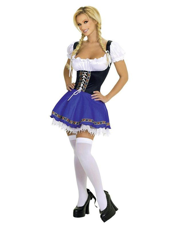 Check out Sexy Service Wench Beer Costume - Beer Girl Adult Costumes from Wholesale Halloween Costumes
